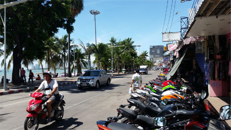 pattaya main drag